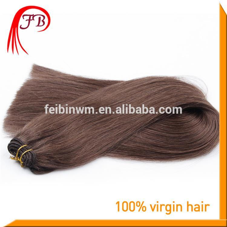 AAAAA 100% Human Remy Straight Hair Weft Color #2 Malaysian Virgin Hair Straight