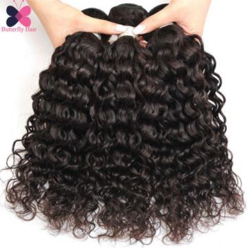 1 Bundle Brazilian Virgin Hair Water Wave 100G Wet And Wavy Human Hair Extension