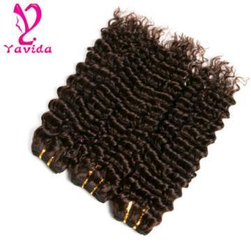 7A Unprocessed Brazilian Virgin Deep Wave Curly Hair 3 Bundles Total 300g #2