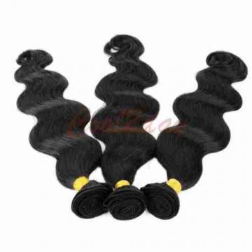 Brazilian Virgin Body Wave Weave Weft 100% Human Hair Wavy 3 Bundles/150g total