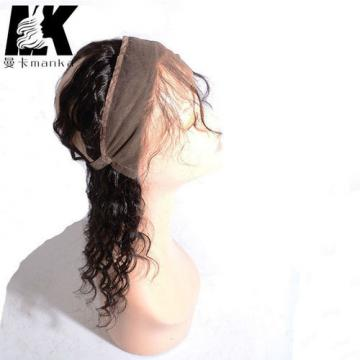 360 Lace Band Frontal Closure Brazilian Virgin Human Hair Deep Wave Lace Band