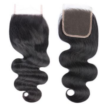 8a Body Wave Hair Lace Closure Brazilian Virgin Hair Lace Closure Human Hair