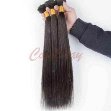1 Bundles Remy Virgin Hair Brazilian Straight Human Hair Weave Extensions 50g