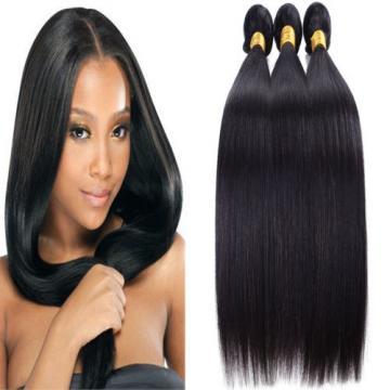 100% Virgin Brazilian Hair Remy Human Hair Weft Weave 3bundle 150g lot Extension