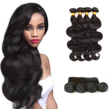 4 bundles Brazilian Virgin Remy Hair Body Wave Human Hair Weave Extensions 200g