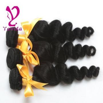 Brazilian Loose Wave Hair Weft 100g/1Bundle Virgin Human Hair Extension Weave