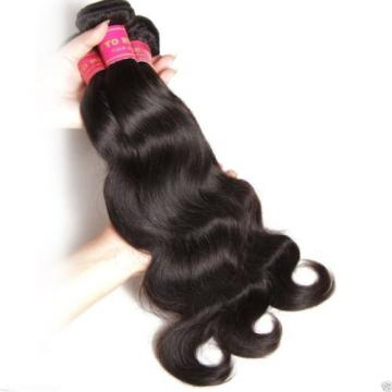 Peruvian Body Wave Virgin REMY Hair Can be Dyed ABSORBS Color Easily Tangle Free