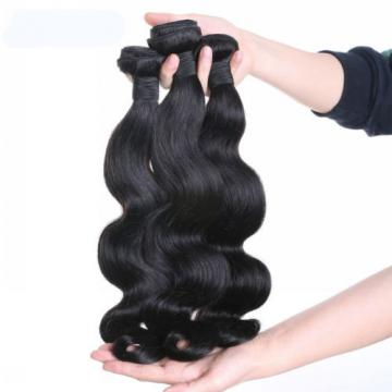 Mixed Length 3Bundles Peruvian Body Wave Virgin Hair Wet and Wavy Hair No Tangle