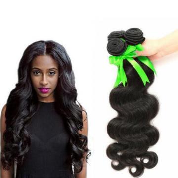 "3 bundles 20"" 150g Peruvian Human Hair Extensions Virgin Body Wave human hair"