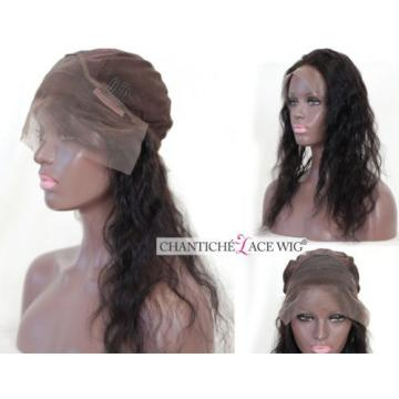 7A Virgin 360 Lace Band Frontal Wave Peruvian Remy Human Hair Lace Front Closure