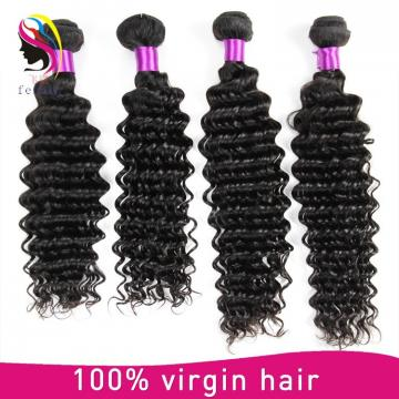 cheap brazilian hair weave Indian deep wave alibaba express china