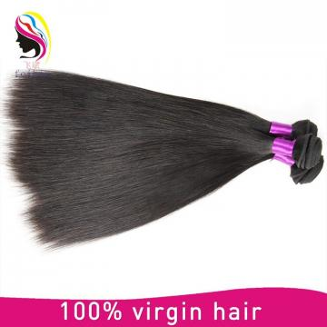 Natural color raw unprocessed virgin indian hair weavon straight hair indian human hair in china