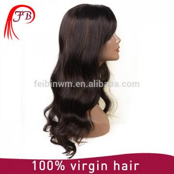 Top quality Brazilian full lace Human Hair Wig