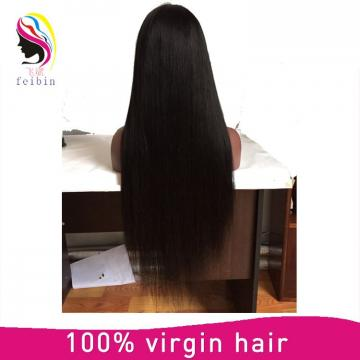 Cheap Straight Glueless lace front human hair wigs