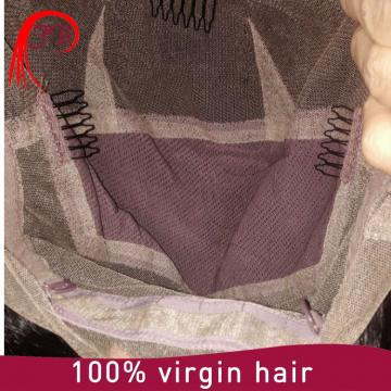 Indian hair manufacturer 100% virgin hair unprocessed lace wig human hair