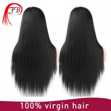 Hot sale unprocessed Lace Front Human Hair Wigs Brazilian Virgin Hair