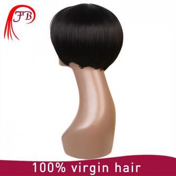 7a 8a grade natual color wholesale natural brazilian hair wigs brazilian virgin hair lace front wig