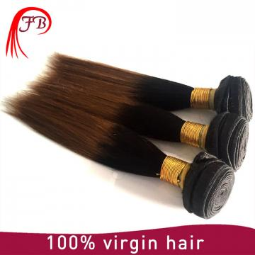 Fashion 1B/30 two tone straight hair ombre human hair extensions