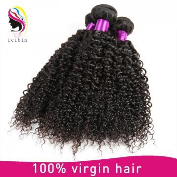 virgin malaysia hair 6A grade kinky curly weave hair