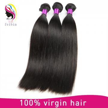 100 pure virgin human hair straight hair peruvian hair extension