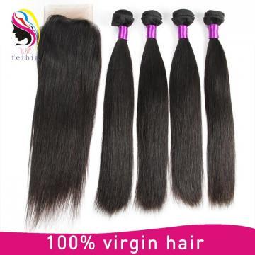 soft 100% hair virgin brazilian hair straight hair extensions