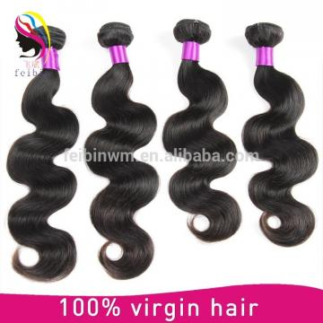 Can be restyled mink brazilian hair 7a body wave no shedding human hair extension