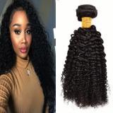 1 Bundle Brazilian Kinky Curly Virgin Hair Curly Weave Human Hair Natural Black