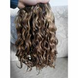 Brazilian Human Hair wavy Extensions mixed 4/27 color Weft Virgin Hair Weave