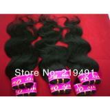 6pcs/peruvian virgin hair body wave, remy human hair extensions mix bund1549