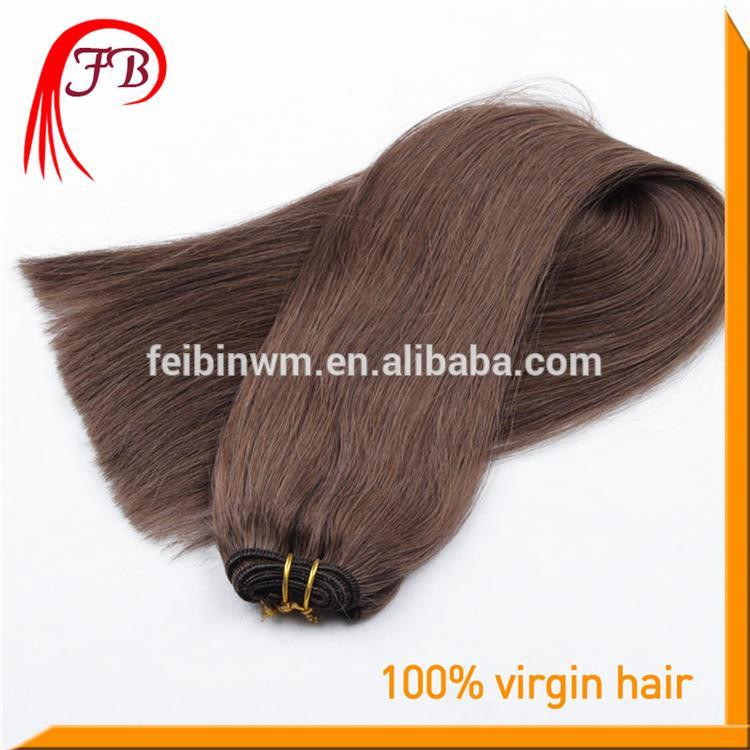 Fashion Products 6A Human Virgin Straight Hair Weft Color #2 Cheap Malaysian Hair