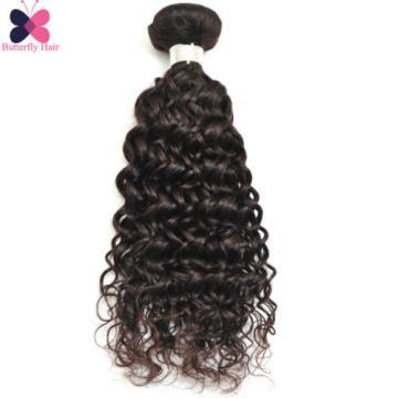 1 Bundle Brazilian Virgin Hair Water Wave 100G Wet And Wavy Human Hair Extension