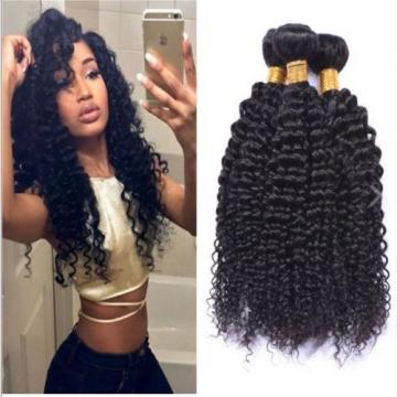 Brazilian Curly Virgin Hair Weave 3bundles/150g Unprocessed Human Hair Extension