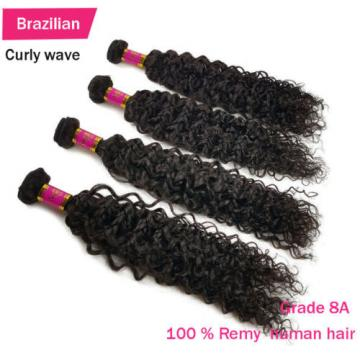 3 Bundles 150g 100% Brazilian Body Wave  Virgin Hair Weft Striaght Loose Wave 8A