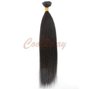 1 Bundle Unprocessed Brazilian Straight Peruvian Indian Virgin Human Hair 50g