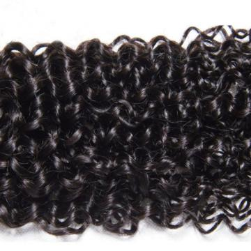 Brazilian Curly Virgin 50g/Bundle Human Hair Weave Extensions Weft