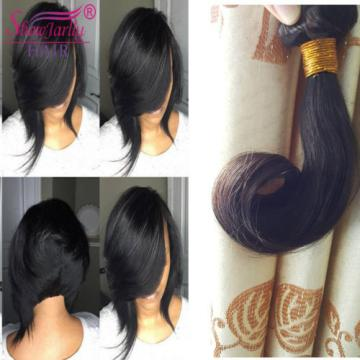 "8"" 10"" 100% Brazilian Body Wave Virgin Hair Weft Wavy BoB Short Hair 150g 8A"