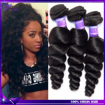 Virgin Brazilian Hair Weave 200g/ 4 Bundles Loose Wave Human Hair Extensions