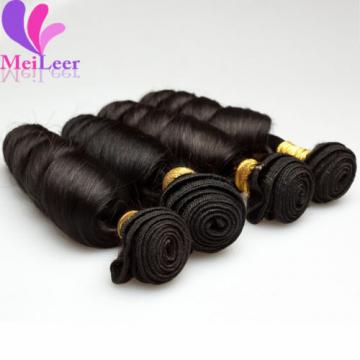 Loose Wave Brazilian Real Remy Virgin 100% Human Hair Extension Weaves 3 Bundles
