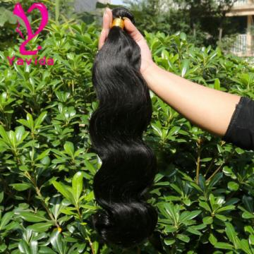 THICK 7A 100% Unprocessed Brazilian Virgin Body Wave Human Hair Extensions 300G