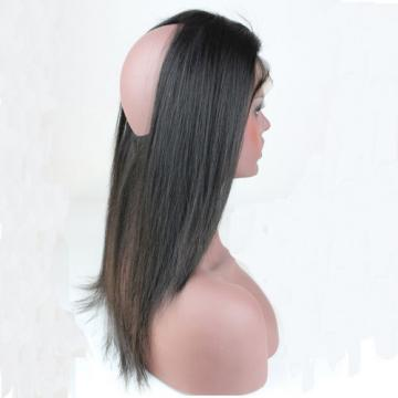 Brazilian Virgin Hair 22x4inch 360 Lace Band Frontal Back Closure Straight