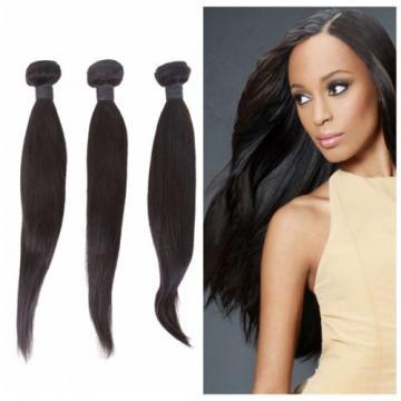 1 Bundle Brazilian 100% Virgin Human hair Straight Remy Weave Weft Extension 50g