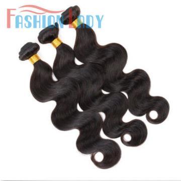 7A 3bundles/150g Brazilian Body Wave Human Hair Extension Virgin Remy Hair Weft