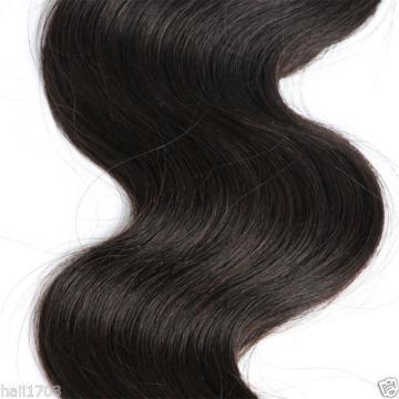 Brazilian Virgin Body Wave Hair Weave Weft 100% Human Hair Wavy 14 14 16 /150g