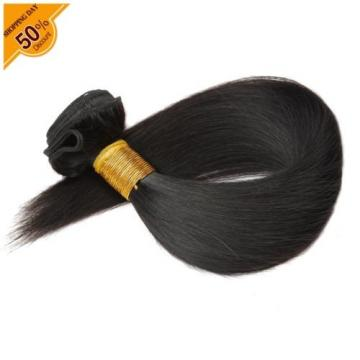 7A Brazilian hair 3 Bundles 300G Silk Straight Virgin Human hair Extension