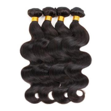 4 bundles Brazilian Virgin Remy Hair Body Wave Human Hair Weave Extensions 200g