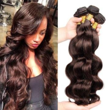 7A Body Wave 100% Virgin Brazilian Human Hair Extension Weft 3 Bundle/300g