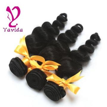 Brazilian Loose Wave Hair Weft 100g/1Bundle Virgin Human Hair Extension Weave