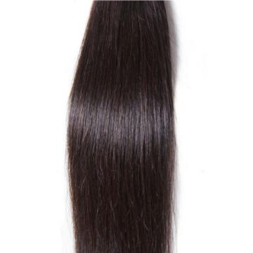 50g/Bundle 7A Brazilian Silky Straight Virgin Human Hair Weaves Unprocessed Hair