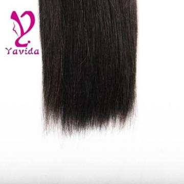 1 Bundle/100g 100% Unprocessed Virgin Brazilian Straight Silky Human Hair Weft