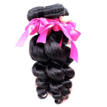 300g Bundle Loose Weave Unprocessed Brazilian Virgin Human Hair Extension Weft